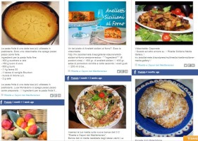 Recipes and Flavors of the Mediterranean Social Stream