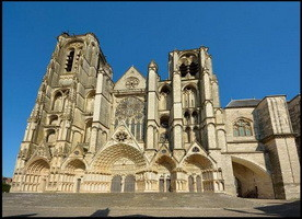 Sito Unesco : Cattedrale di Bourges / Bourges Cathedral  Francia (1992)