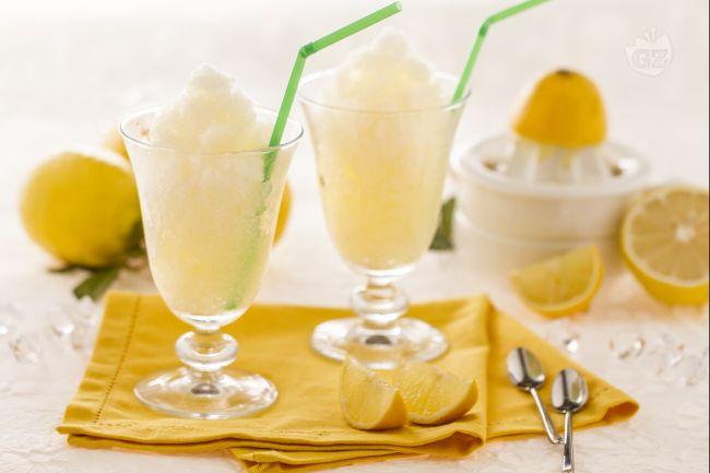 Ricetta della granita di limone