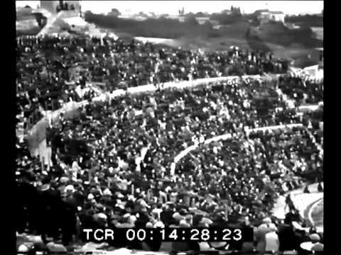 Vittorio Emanuele III visita Siracusa 1930