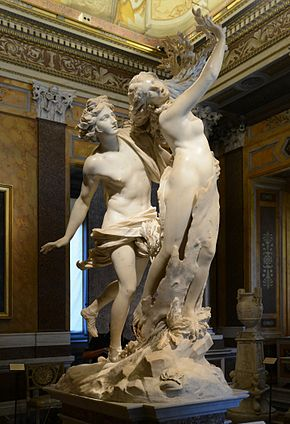 apollo e dafni del bernini