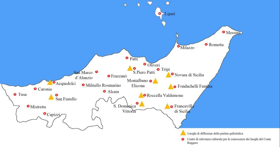 Places of Ruggero