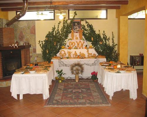 Pane Votivo di San Giuseppe - Chiusa Sclafani
